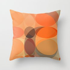 Faded Lights Throw Pillow
