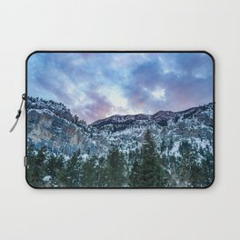 Snowcap Mountain   Sunset at Mount Charleston Mary Jane Falls Road National Forest Road Trip Sky Laptop Sleeve