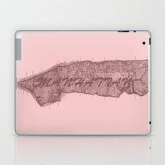 Vintage Manhattan Red Laptop & iPad Skin