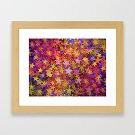 So Many Stars Framed Art Print