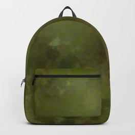 Green brown batic look Backpack