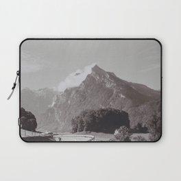 Winding Road and Mountain, Switzerland Laptop Sleeve