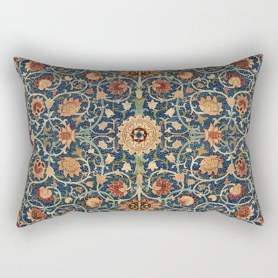 William Morris Floral Carpet Print by vickybragomitchell