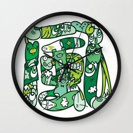 風 - WIND Wall Clock
