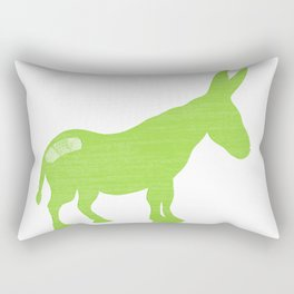 Pain in the Donkey Rectangular Pillow