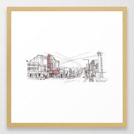 Castro Street, SF Framed Art Print