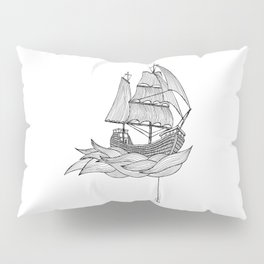 The ship Pillow Sham