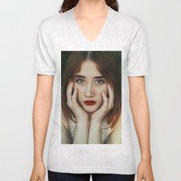 Freckle beauty Unisex V-Neck