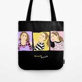 Knock Knock! Chaeyoung Version Tote Bag