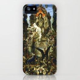 "Gustave Moreau ""Jupiter and Semele"" iPhone Case"
