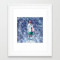 ronaldo Framed Art Prints featuring Cr7 Ronaldo by Cr7izbest