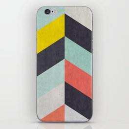 Triangular composition XVII iPhone Skin
