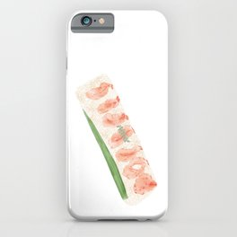 Japanese Sweet Shrimp Sushi | 甜虾寿司 iPhone Case