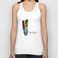 mineral Tank Tops featuring Mineral: Labradorite Spectrolite by Spirit Tooth