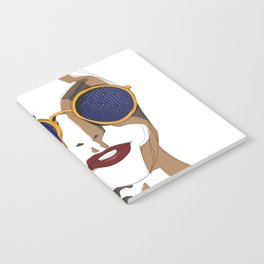 View of Fashion Notebook