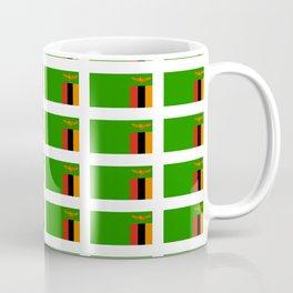 Flag of Zambia -Zambian,Rhodesia,Lusaka,Kitwe,Chipata Coffee Mug