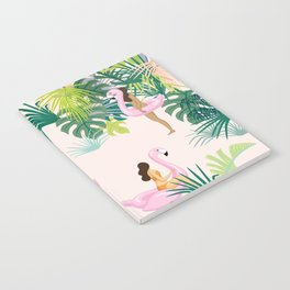 pink river Notebook