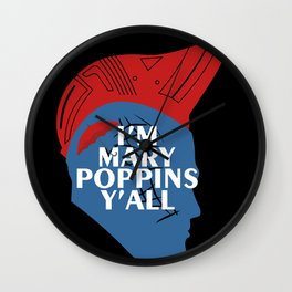 Yondu umbrella mary poppins Wall Clock