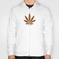 Vintage Cannabis Leaf Hoody