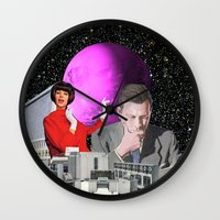computer Wall Clocks featuring Computer Life by TRASH RIOT