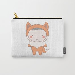 Cute Fox Kid Carry-All Pouch
