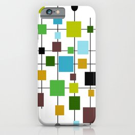 Mid-Century Modern Art 1.3.2 iPhone Case