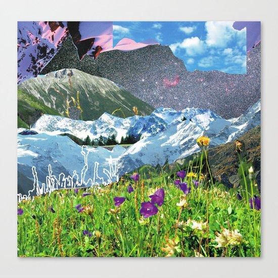 Experiment am Berg 31 Canvas Print
