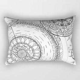 Movement of the Spheres 01 Rectangular Pillow