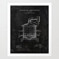 Design for a Brew Kettle Art Print