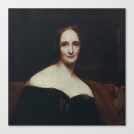 Mary Shelley Canvas Print