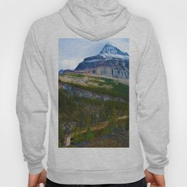 Highest Mountain in the Canadian Rockies; Mount Robson Hoody