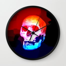 Skull02 Wall Clock