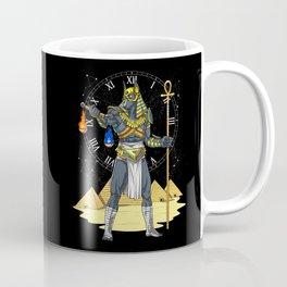 Anubis Egyptian God Ancient Pharaoh King Coffee Mug