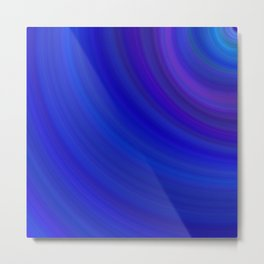 Blue background abstract blue Metal Print