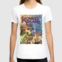 monkey island T-shirts featuring Monkey Island by idaspark