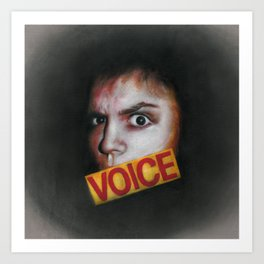 Voice Art Print