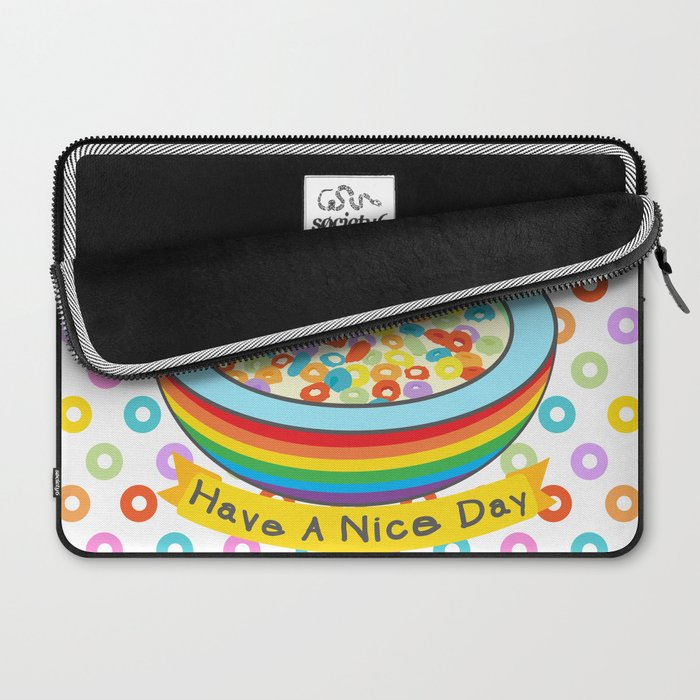 Eat Breakfast! Laptop Sleeve