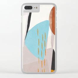 Abstract Art 23 Clear iPhone Case