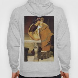 The Honeymoon 1868 by Sir Lawrence Alma Tadema   Reproduction Hoody