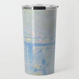 "Claude Monet ""Charing Cross Bridge"" (1899) Travel Mug"