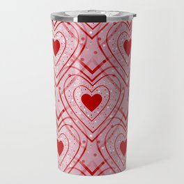 Heartbeat - Romantic - Valentines Day Travel Mug