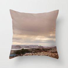 Near Lake Powell, AZ Throw Pillow
