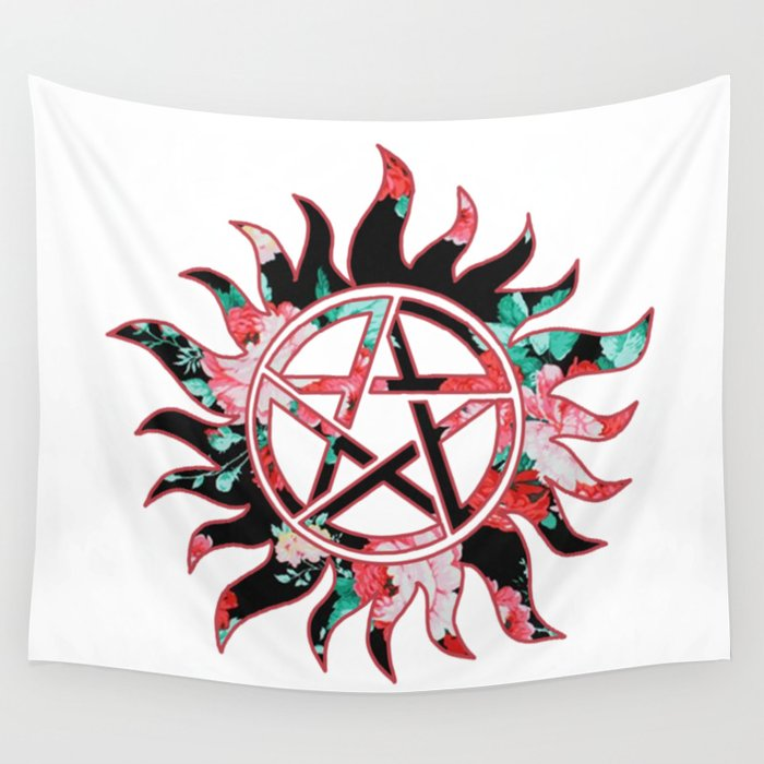 Anti Possession Symbol Wall Tapestry By Judecas Society6
