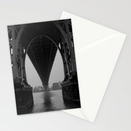 Williamsburg Bridge Underbelly Stationery Cards