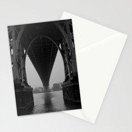 Williamsburg Bridge Underbelly Stationery Cards