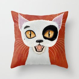 Smiley Throw Pillow