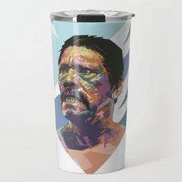 Angry Trejo Travel Mug