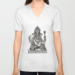 Remover of Obstacles Unisex V-Neck