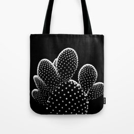 Cactus Minimalism Photography | Black and White | Desert Things Tote Bag