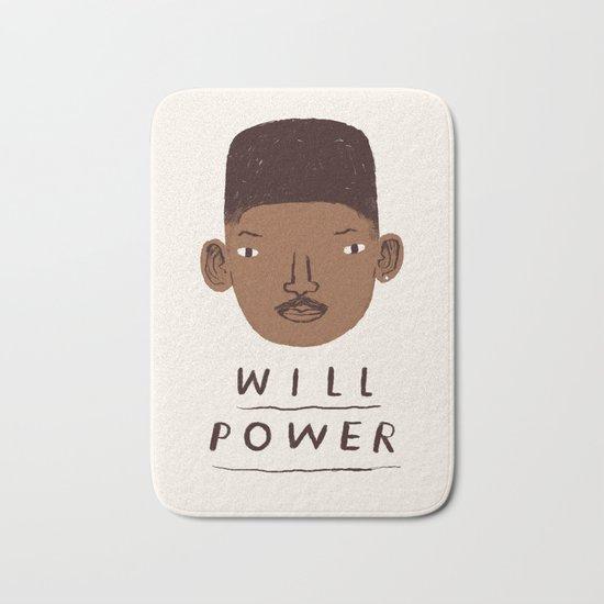 Will Power Bath Mat